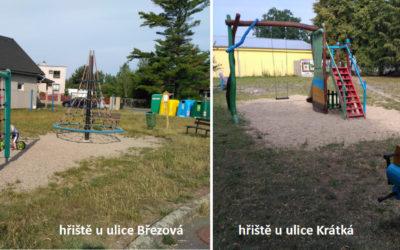 15 Doplnění herních prvků na dětská hřiště na Svárově