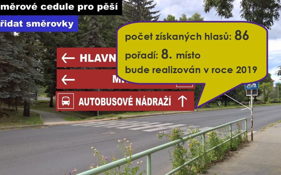 27 Směrové tabulky v blízkosti dopravních uzlů