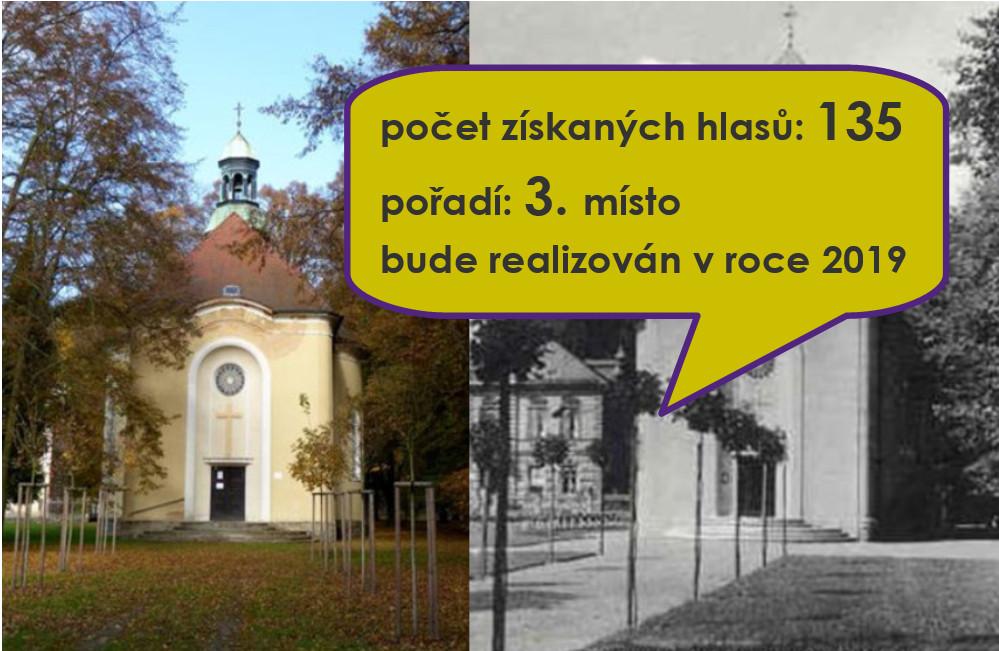31 Obnova cesty ke kostelu Mistra Jana Husa v městském parku