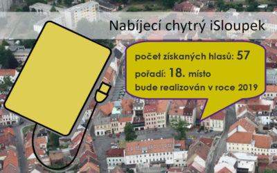 04 Nabíjecí chytrý iSloupek – instalace USB zásuvek na náměstí T.G.M.